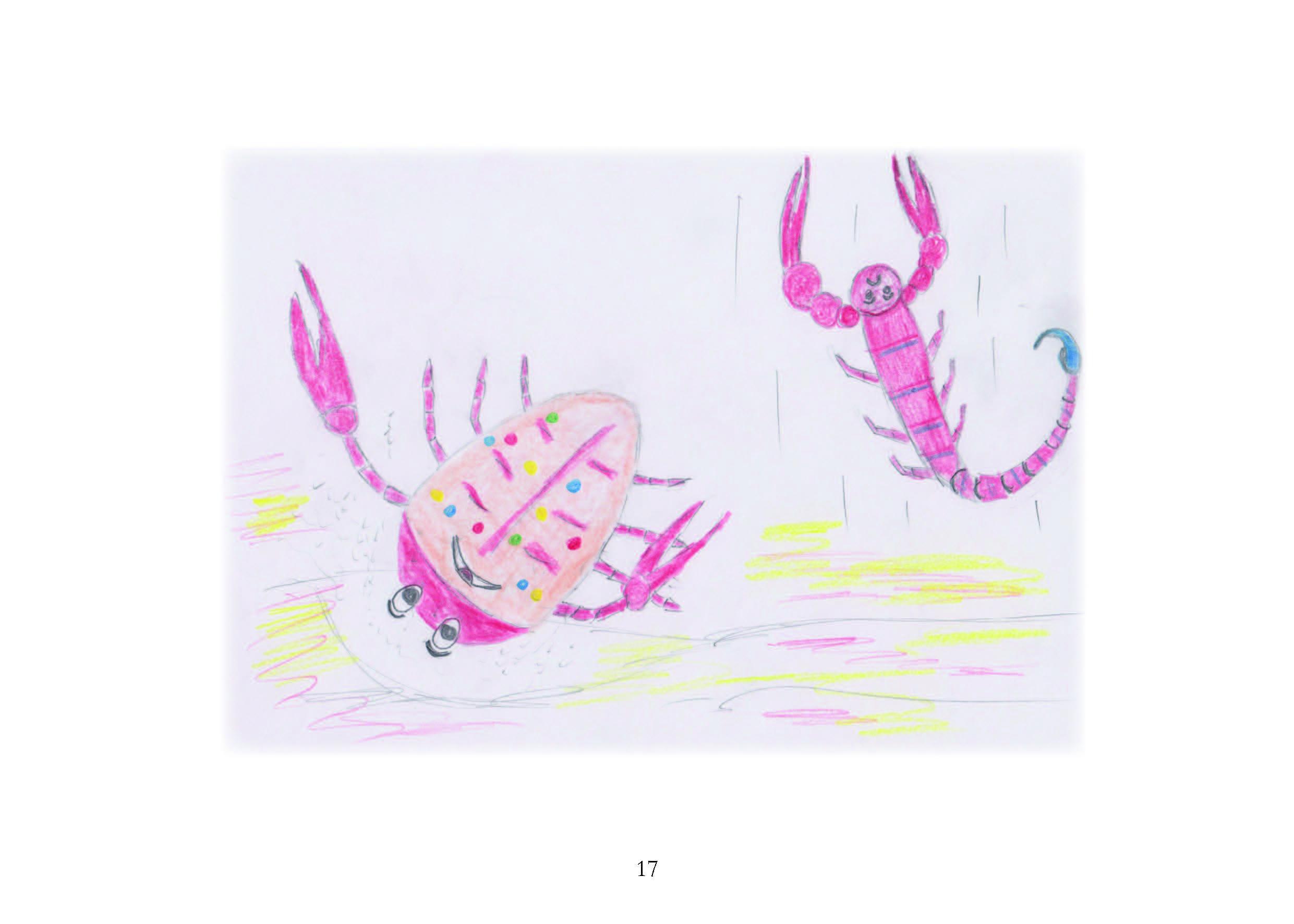 krebs lustig skorpion m rrisch leseprobe buchwurm. Black Bedroom Furniture Sets. Home Design Ideas